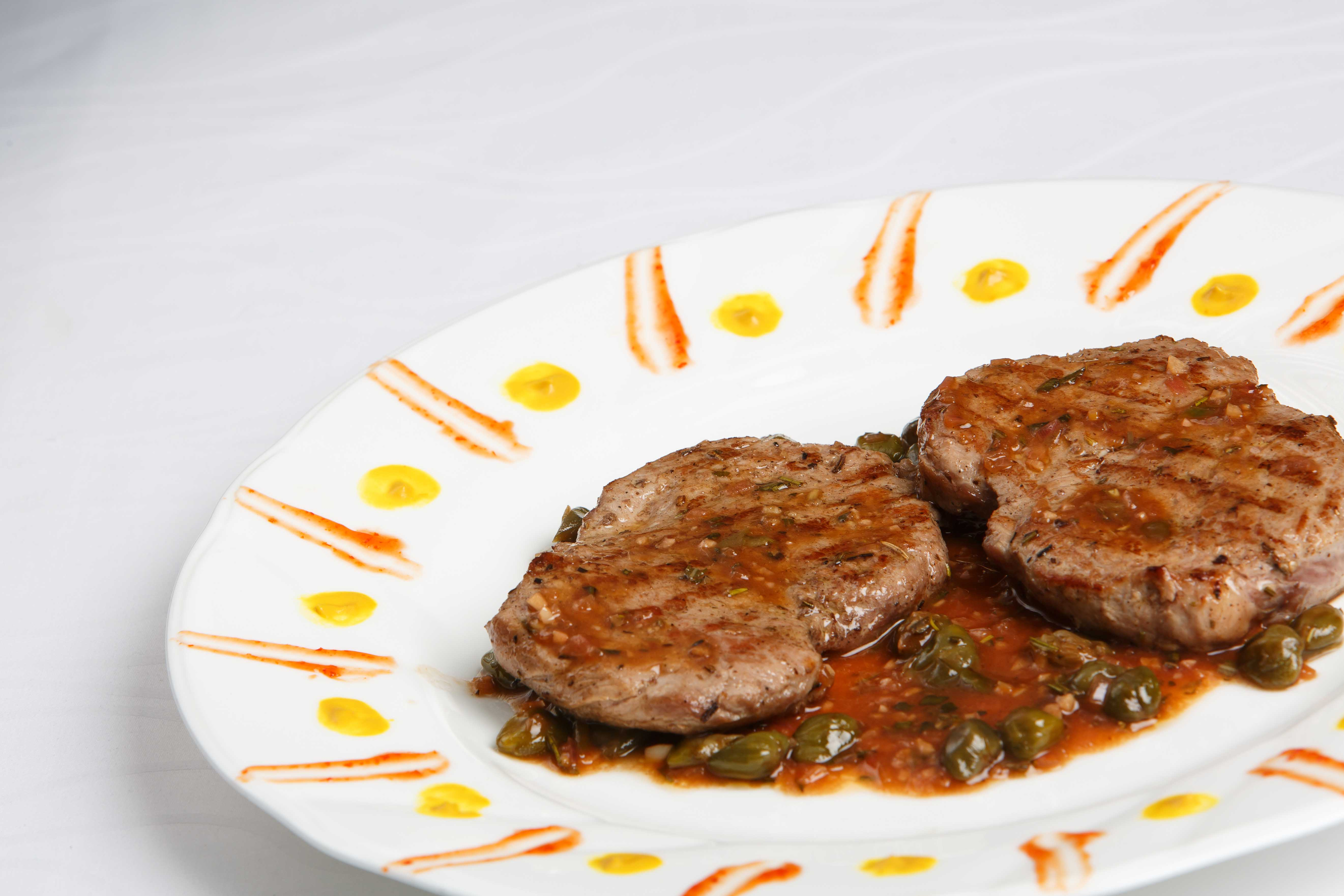 Beef Piccata With Caper